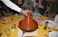 モロッコ ティネリール タジン料理(ベルベルビーフタジン)