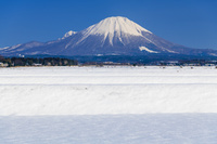 鳥取県 雪の大山