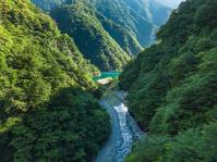 夢の吊り橋 寸又峡 8月 静岡県
