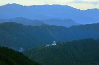 岐阜県 郡上八幡城と奥美濃の山並み