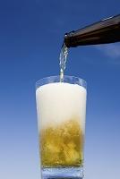 青空と生ビール
