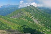 北海道 美瑛岳よりオプタテシケ山