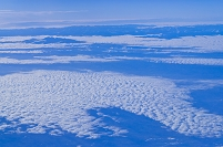 機中より雲 マドリッド~フランクフルト LH-1123