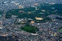 大阪府 堺市 百舌鳥古墳群いたすけ古墳から大仙公園
