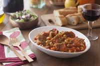 豚バラ肉と白インゲン豆のトマト煮込み