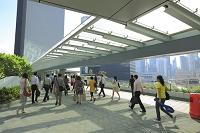 中国 香港 朝の通勤