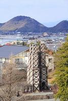 静岡県 韮山反射炉と伊豆の国市街
