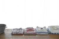 畳んだ洗濯物