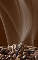 コーヒー豆の焙煎のイメージ