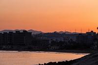 地中海 夜明 ティール レバノン