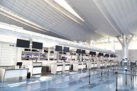 閑散とした羽田空港(国際線)