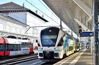 オーストリア ザルツブルク中央駅