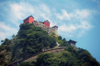 中国  武当山古建築