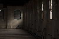 煉瓦倉庫 斜光