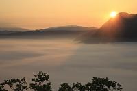 北海道 摩周湖第三展望台からの日の出