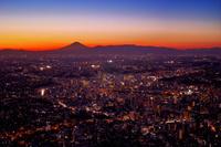 神奈川県 ランドマークタワーより横浜の夜景