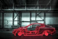 工場 3Dレンダリング