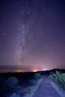 アメリカ合衆国 モアブ 星空
