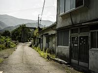 廃鉱山の街
