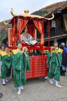 長野県 中山道 奈良井宿 皇女和宮御下向行列