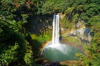 虹のかかる五老ヶ滝