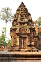 カンボジア アンコール遺跡 バンテアイ・スレイ