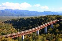 北海道 上士幌町 松見大橋