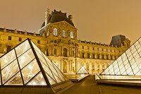 フランス ルーヴル美術館 外観