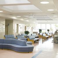 病院のロビー