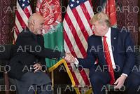トランプ米大統領 アフガンを電撃訪問
