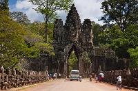 カンボジア アンコール・トム遺跡 南門