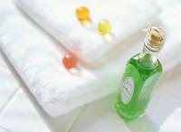 入浴剤とタオル