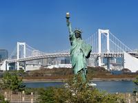東京都 お台場海浜公園の自由の女神像