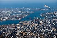 北九州工業地帯 若戸大橋