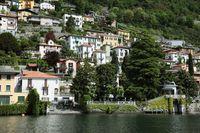 イタリア コモ湖の別荘