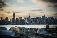 アメリカ合衆国 マンハッタンの街並み