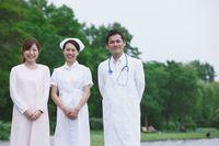 医者と看護師と介護士