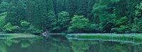 滋賀県 平池 パノラマ