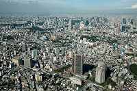 東京都 恵比寿より広尾と六本木方面