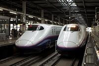 岩手県 並ぶ 東北新幹線