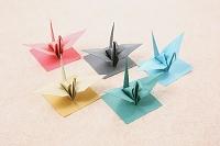 和紙 折り鶴