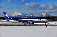 北海道 新千歳空港 ボーイング767