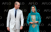 ウィリアム英王子夫妻、パキスタン訪問