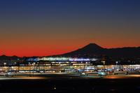 東京都 富士山と羽田空港国際線