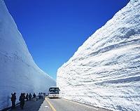 富山県・立山町 立山黒部アルペンルート・雪の大谷