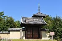 奈良県 生駒郡 法起寺