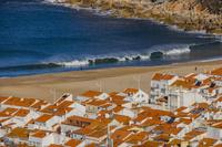 ポルトガル ナザレの街並み