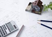 建築図面と建築模型