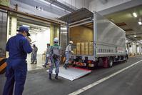 防災訓練 ‐ 緊急支援物資搬送訓練