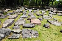 愛知県 名古屋城 天守礎石